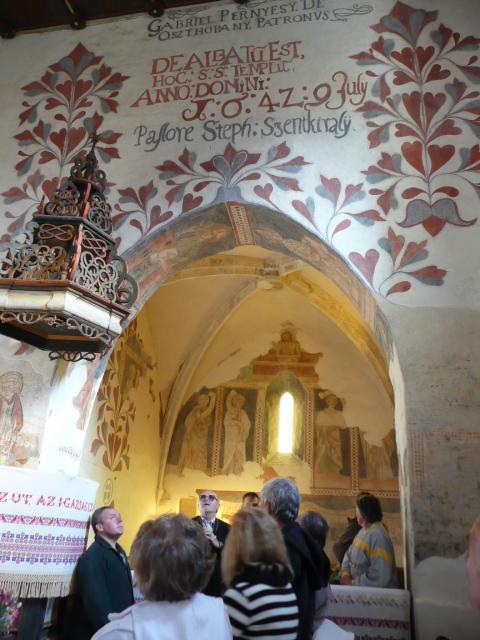 Csaroda - templombelső