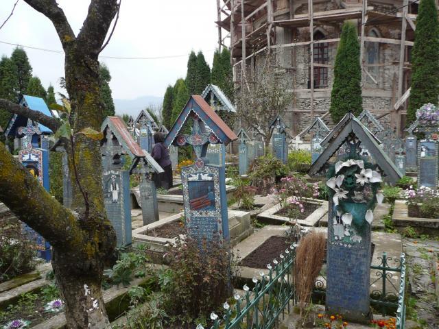 Szaplonca - vidám temető
